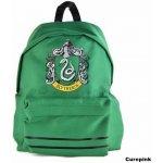 CurePink batoh Harry Potter Slytherin 18l zelený