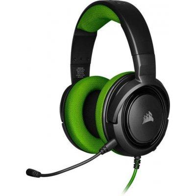 Headset Corsair HS35 - černý/zelený (CA-9011197-EU) (PC)