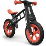 First Bike Limited Edition s brzdou + zvonek oranžové