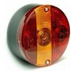 Autolamp Skupinové světlo zadní trojdílné kulaté CZ L
