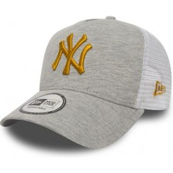 70909b42a08 New Era A Frame Trucker Jersey Essential New York Yankees 9FORTY AFRAME  TRUCKER Light Gray