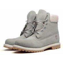 TIMBERLAND AF 6 Inch Premium Grey Leather 45005c0cf1a