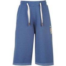 Lee Cooper Logo Fleece shorts mens Washed modré Mar