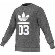 Adidas 3FOIL CREW šedá