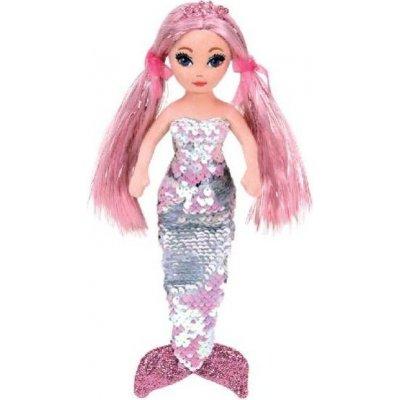 Ty Mermaids růžová mořská panna s otočnými flitry