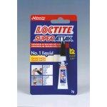 Lepidlo sekundové LOCTITE Super Attak 3g