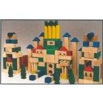 HMmax Dřevěné kostky 180 kusů