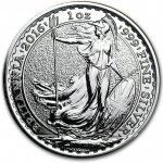 Britannia Stříbrná mince 1 Oz