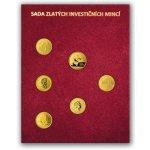 Česká mincovna Sada zlatých investičních mincí 1 10 oz v dřevěné etui 19,25 g