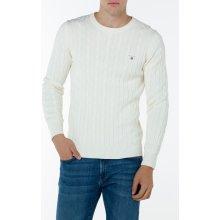 Gant Pánský svetr COTTON CABLE CREW různobarevná S