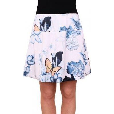 Fashion Mam 605 balonová sukně bílomodrá