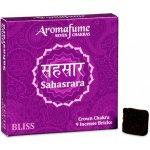 Indie Aromafume vonné cihličky 7 Čaker Sahasrara 9 ks