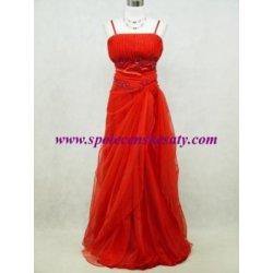 dlouhé společenské plesové svatební šaty s bohatou sukní červené ... 075037d340f