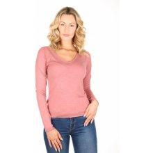 9b9c492788a Tommy Hilfiger dámský růžový svetr Basic