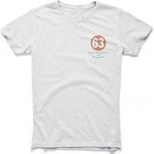 Alpinestars bílé tričko WORLD TEE krátké 1015-76020 20