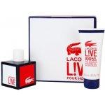 Lacoste Live Male EdT 100 ml + sprchový gel 100 ml dárková sada