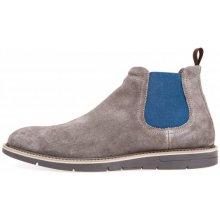 Geox pánská kotníčková obuv Uvet šedá