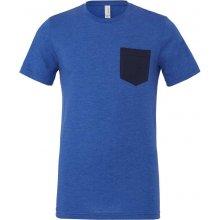 Tričko s kapsou Modrá žíhaná