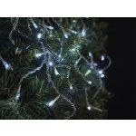 Emos Vánoční osvětlení Connecting ZY2001 100LED spojovací řetěz - krápníky 2,5x0,9m, studená bílá blikající