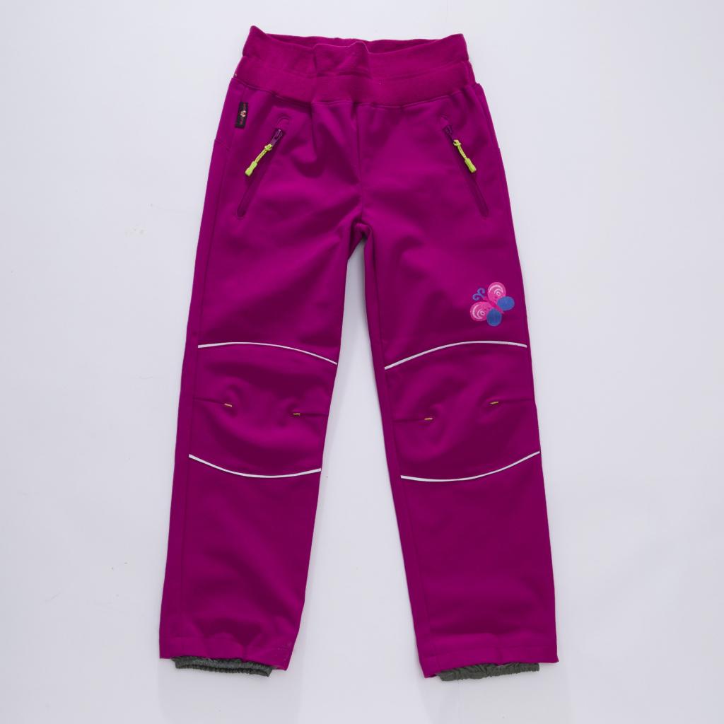 WOLF Dívčí softschellové kalhoty B2882 Fialová od 359 Kč - Heureka.cz 1cb00993e3