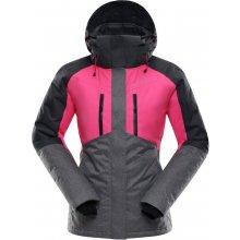 ALPINE PRO SARDARA Dámská lyžařská bunda LJCK193452 růžová
