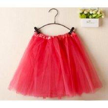af1e9dcd351 SISI 0266-red Tutu sukně pro dívky