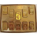 T-Severka Čokoládové Zlaté cihličky 180 g