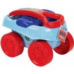 Écoiffier 7713 Abrick Maxi velké kostky ve vozíku modrá 40 dílů