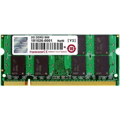 Transcend SODIMM DDR2 2GB 800MHz CL5 TS256MSQ64V8U