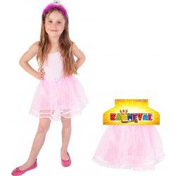 e9f49e93f64 Dětský karnevalový kostým sukně TUTU růžová