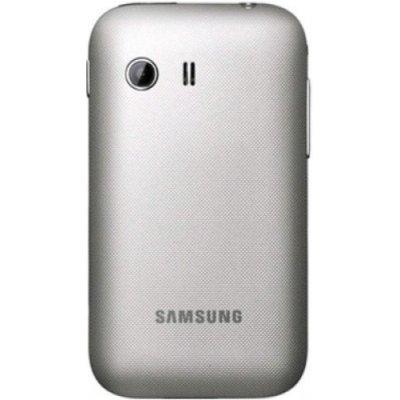 Kryt Samsung S5360 Galaxy Y zadní stříbrný