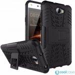 Pouzdro PANZER CASE NEO mobilní telefon Huawei Y5 II / Y6 II Com Černé