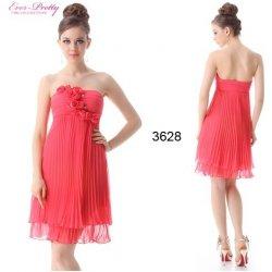 d292588d3ad8 Ever Pretty Růžové společenské večerné letní krátké šaty s květinami 3628