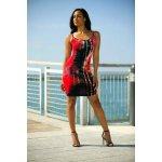 c6e919decee6 Letní plážové šaty mini Batika 4540287-3 červená