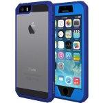 Pouzdro Amzer Full Body Hybrid Case - iPhone 5, 5s, SE modré