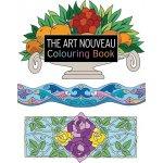 The Art Nouveau Colouring Book Secese