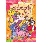 Princezné poníky víly maľovanka