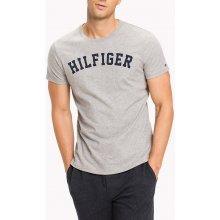 d0ef90bafa3 krátký rukáv · Tommy Hilfiger šedé pánské tričko SS Tee Logo