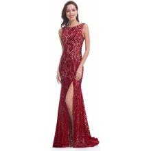 Ever Pretty elegantní krajkové šaty 8859 bordo 4555229d48