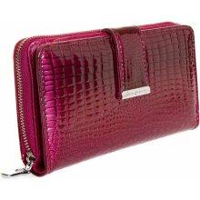 8c3b2370b69 Jennifer Jones 5280 dámská kožená peněženka červená