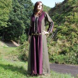 Karnevalový kostým Dámské gotické šaty Nadine r. 1430 fbf0ef1f5f
