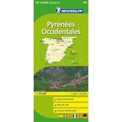 Pyreneje Zapad Spanelsko Mapa 1 150 000 Michelin Od 239 Kc