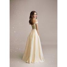 7fab7228a8b Eva   Lola společenské šaty Auréline světle zlatá