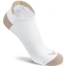 Callaway Sport Tab dámské golfové ponožky, bílé/béžové