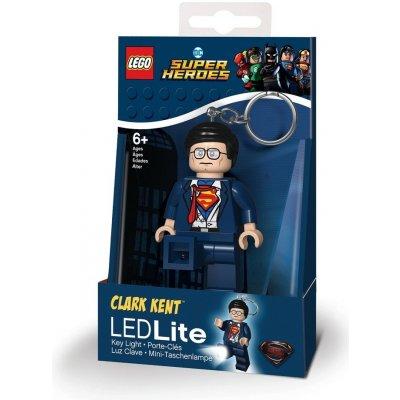 Přívěsek na klíče LEGO LED Lite DC Super Heroes Clark Kent svítící figurka