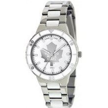 Gametime Toronto Maple Leafs Pearl Stainless Steel