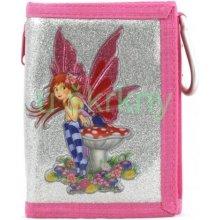 Cool Peněženka s karabinou Fairy pink