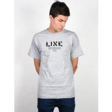 Line Stencil heather grey