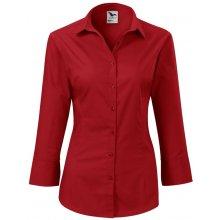 Adler Dámská košile s tříčtvrtečním rukávem Style - Červená 3089aebed8