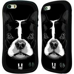 Pouzdro HEAD CASE Apple Iphone 5 5S vzor Zvíře kreslená tvář 2 buldok d5d2c00a60b